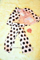 Гороховая прелестный костюм от джимбори. GYMBOREE