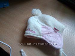 зимняя шапочка на новорождённую девочку
