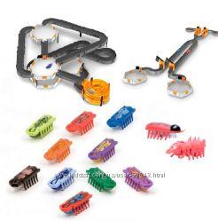 Роботы жуки Нано и треки к ним.