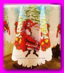Новогодняя скатерка Дед Мороз
