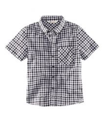 Рубашки с коротким рукавом для мальчиков-подростков H&M рост 134-170