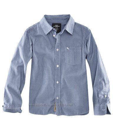 Рубашки с длинным рукавом для подростков H&M рост 134-170