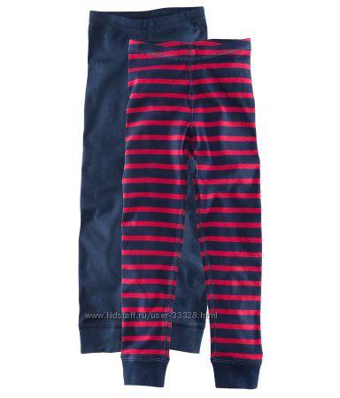 Подштанники хлопковые и брюки флисовые на подростков 134-170 H&M