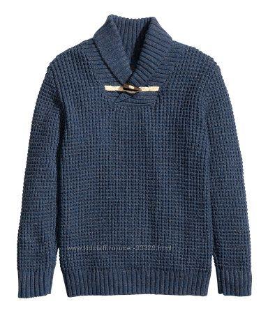 Свитера, пуловеры, кофты на мальчиков-подростков H&M размер 134-170