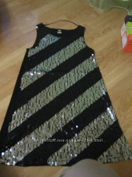 Платье туника H&M паетки