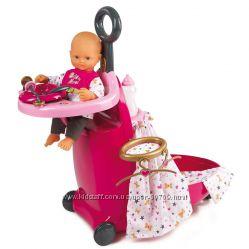 Акція Набор для ухода за куклой Раскладной Чемодан Baby Nurse Smoby 220316