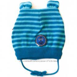 Lenne -весна шапка мальчику. Демисезонные шапки весна -осень на завязках.