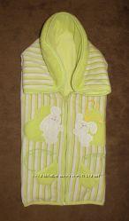 Велюровый конверт-одеяльце, унисекс