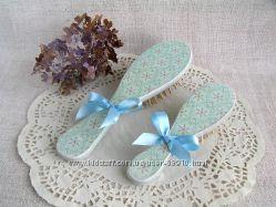 Набор расчесок, массажная щетка деревянная подарок для мамы дочки Нежность