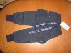 Baihudie штаны -укороченные капри с карманами134 рост новые
