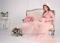 Кружевные будуарные платья в аренду для фотосъемок беременных
