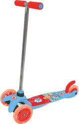 Самокаты - Винни, Принцесса, Тачки,  Микки, Angry Birds 2-х и 3-х колесные