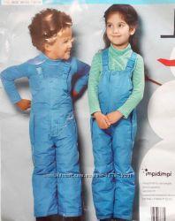 Классные лыжные брюки от бренда  Impidimpi размер на рост 74-80 см, фото 2