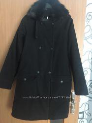Продаю утеплённое пальто р. М