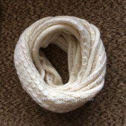 Тёплый шарф, снуд