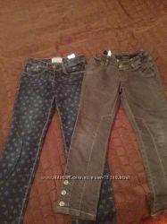 2 пары джинс бенеттон на девочку