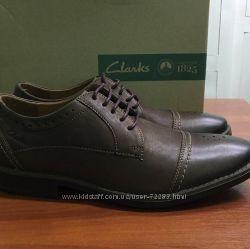 Шикарные туфли Clarks Garren Cap Toe Brogue