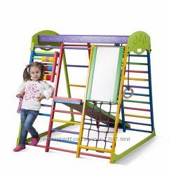 Шведские стенки, спорткомплексы для малышей, прыгунки. Лучший подарок