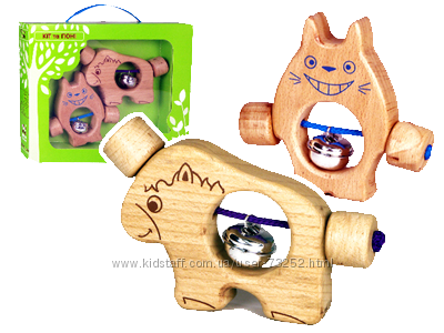 ТМ ЗЕЛЕНАЯ ИГРУШКА Деревянные игрушки премиум-качества по дем. цене