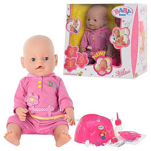 Кукла пупс Baby Born с магнитной соской