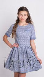 Легкое летнее платье, 100 хлопок