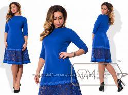 Модная одежда для девушек с красивыми формами 42-56р.