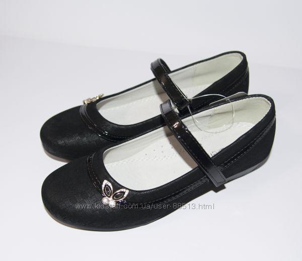 Распродажа. Туфли школьные TM Kellaifeng р. 34, 35, 37 плюс подарок