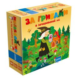 За грибами в волшебный лес настольная игра от Granna