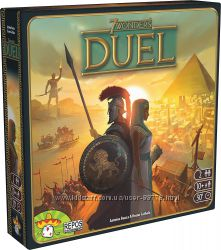 7 Wonders Duel  promo- карточная дуэльная игра, хит