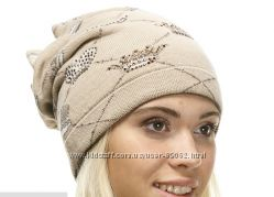 красивая теплая шапочка