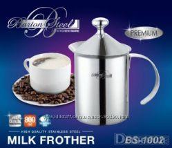 Для кофеманов - взбиватель для молока ручной