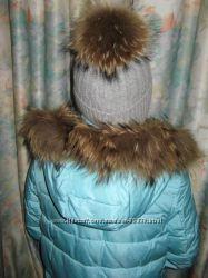 Шикарные шерстяные шапочки для девочек и девушек
