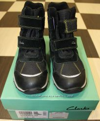 Продам бу зимние ботинки фирмы Clarks, р. 36