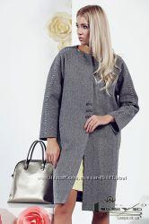 Стильное пальто из шерсти Фентон
