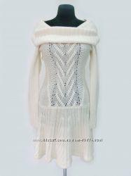 Теплое вязаное свитер- платье от Victorias Secret   с пышной юбкой