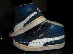 Утепленные замшевые кроссовки Puma, оригинал