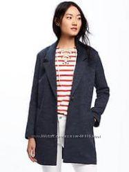пальто oldnavy серый принт