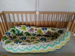 Кокон-гнездышко, колыбелька, позиционер, люлька для новорожденного Cocoonba