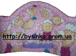 высокая защита в детскую кроватку защитное ограждение бампер бортики-40 см