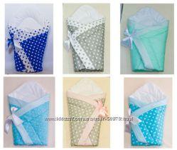 Конверт-одеяло- плед-трансформер на выписку новорожденного зима