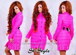 Розовое,  яркое пальто, куртка