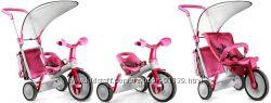 Велосипед-коляска CHICCO  3 в 1 EVOLUTION розовый