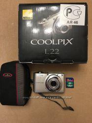 Продам Nikon Coolpix L22 чохолкарта 8 ГБ в подарунок