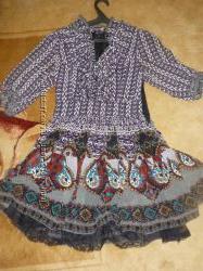 Шелковое платье ANNA SUI на S, XS. Оригинал