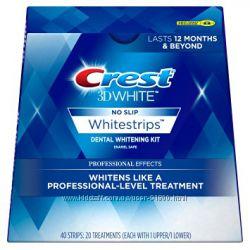 Отбеливание зубов Crest Whitestrips Professional Effects.