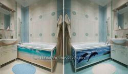 Экраны для ванн арт дизайн серия Эксклюзив 5 видов