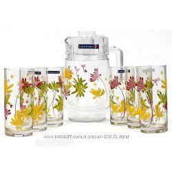 Набор для напитков Luminarc Crazy Flowers -суперский подарок