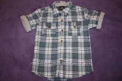 Рубашка для мальчика Texstar р 104 хлопок отличное состояние