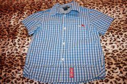 Рубашка для мальчика H&M р 116 на 5-6 лет отличное состояние