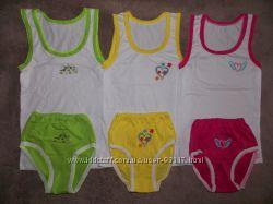 Новые нарядные комплекты и трусики для девочек